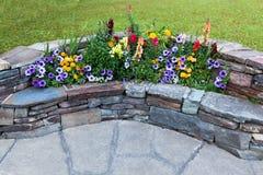 Flower Bench Stock Photos