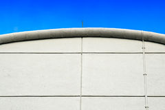 Curved roofline apex Stock Photo