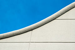 Curved roofline middle Royalty Free Stock Photo