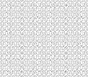 Curved seamless pattern background Stock Photo