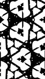 Curved Shape Monochrome Pattern Royalty Free Stock Images