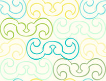 Curved Shape Seamless Background Royalty Free Stock Photos
