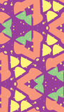 Curved Shape Seamless Pattern Royalty Free Stock Images