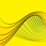Curved shapes superimposed Royalty Free Stock Images