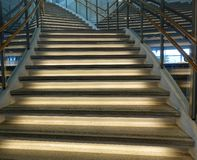 Curved Staircase Royalty Free Stock Images