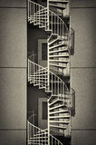Curved stairs Stock Photos
