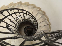Curved stairways Stock Photos