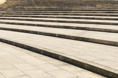 Curved steps Royalty Free Stock Images