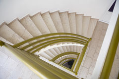 Curved Stone Stairwayj Royalty Free Stock Photos
