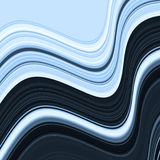 Curved stripes Royalty Free Stock Photo