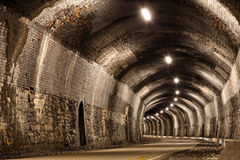 Curved Tunnel Royalty Free Stock Photos