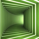 Curved tunnel Royalty Free Stock Photo