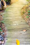 WALKWAY IN THE GARDEN Royalty Free Stock Photo