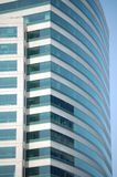 Curved wall of building in Portland, Oregon royalty free stock photos
