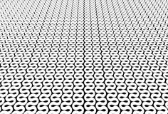 Curved wave line pattern Royalty Free Stock Image