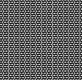 Curved wave line pattern. Seamless curved wave line pattern background Stock Photo