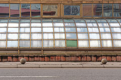 Curved windows Stock Image