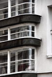 Curved windows Stock Images