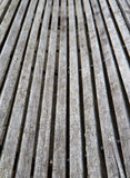 Curved wood Bench Stock Photography