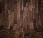 Abstract curved wooden background Stock Images