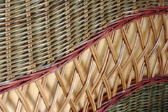 woven bamboo background Stock Photos