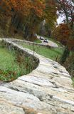 Curves. Mountain road on Shenandoah valley, USA Stock Photography