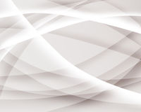 Curves. Abstract curves and wave white and gray Royalty Free Stock Photo