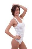 curves den voluptuous kvinnlign Royaltyfri Foto