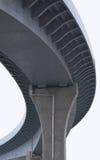 curves huvudvägutbyte Arkivbilder