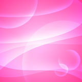 Curves on pink Royalty Free Stock Image