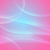 Curves on pink and blue. Abstract background with curves on pink and blue Stock Photography