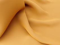 Curves silk background satin cloth or liquid milk illustration. Silk milk cream liquid waves curve fabric texture 3D illustration Royalty Free Stock Photo