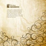 Curves Vintage Background Royalty Free Stock Photos
