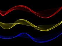 Curvilinear linjer Royaltyfri Foto