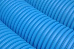 Curvilinear tubes for industry Stock Photos