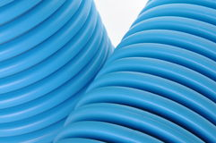 Curvilinear tubes for industry Royalty Free Stock Photography