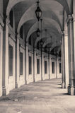 Curving Arcade Royalty Free Stock Images