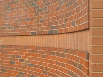 Free Curving Brick Wall Royalty Free Stock Image - 14900696