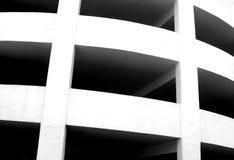 Curving concrete design Royalty Free Stock Photos