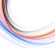 Curving Fibers Abstract Royalty Free Stock Photo