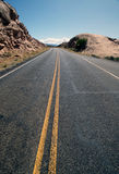 Curving Road Stock Photography