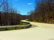 Curving road Stock Images