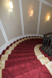 Curving staircase Stock Images