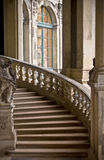 Curving stone stairway Stock Photos