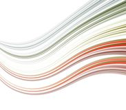 Curving Stripes Abstract Royalty Free Stock Photography