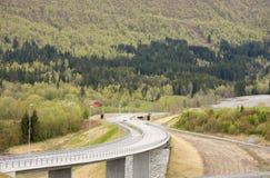 curvy δρόμος Στοκ φωτογραφίες με δικαίωμα ελεύθερης χρήσης