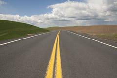 curvy дорога изображения сельская Стоковое фото RF