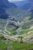 curvy дорога Стоковая Фотография