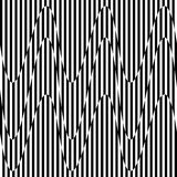 Curvy, развевая линии абстрактный элемент геометрии Monochrome distor иллюстрация вектора