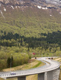 Curvy дороги Стоковое фото RF